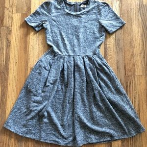 Madewell cotton heathered t-shirt dress, XS